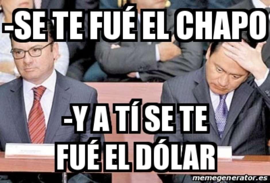 meme chapo chong dolar videgaray